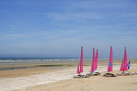 Chars à voile Cabourg Calvados 05/10