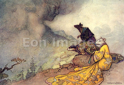 The Espousal of the Rat's Daughter by Warwick Goble