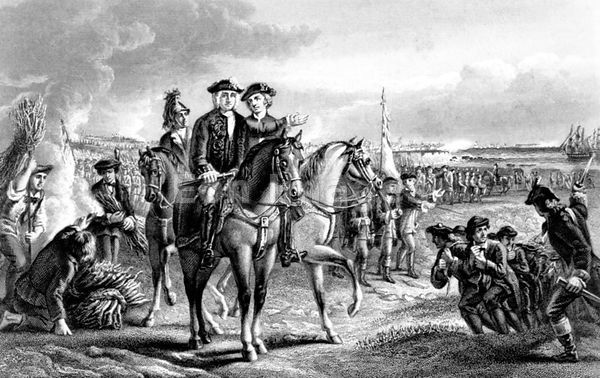 Siege of Louisburg during French and Indian War