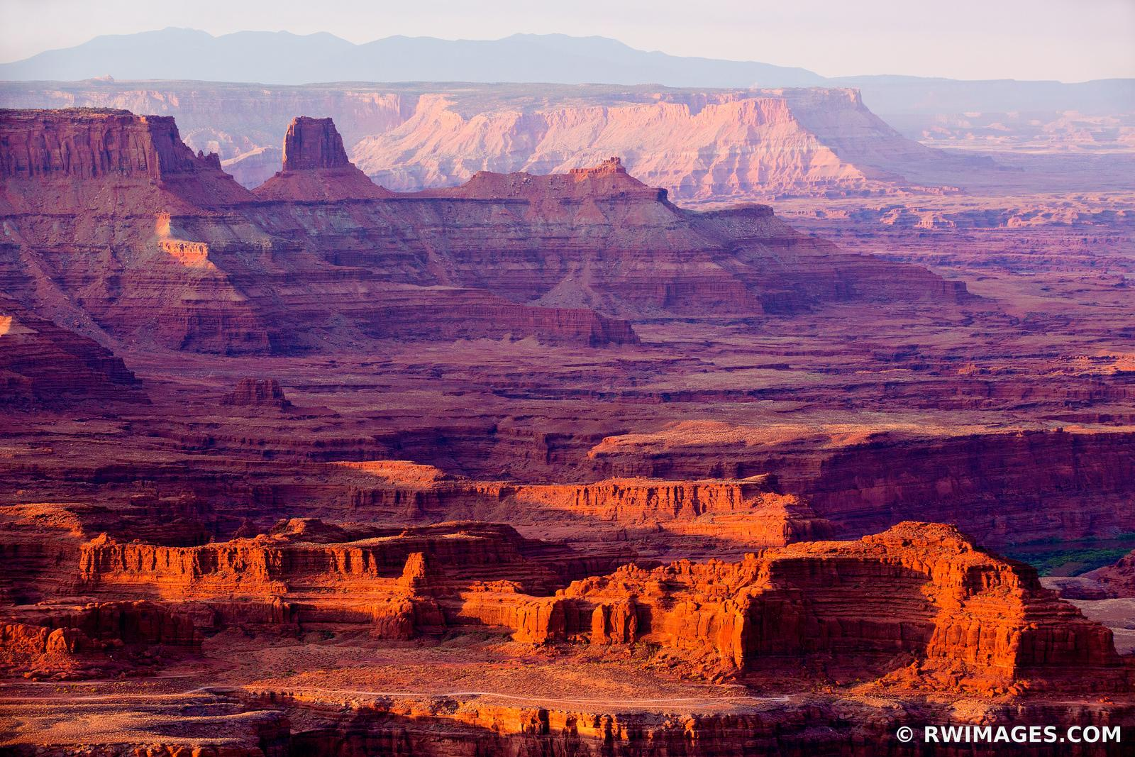 DEAD HORSE POINT STATE PARK UTAH CANYONLANDS NATIONAL PARK UTAH SUNRISE