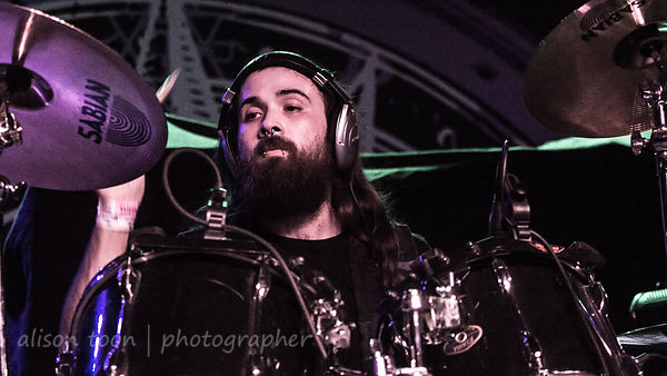 Zach Tole, drums, Snow White Smile, Ace of Spades, Sacramento