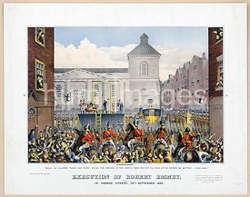 Execution of Robert Emmet in Thomas Street, [Dublin], 20th September 1803