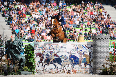 MELAND, Ole Kristoffer, (NOR), CC Top during First round Team competition at Alltech World Equestrian Games at Stade Michel D...