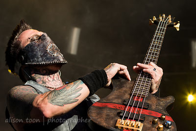 Travis Johnson, bass, In This Moment