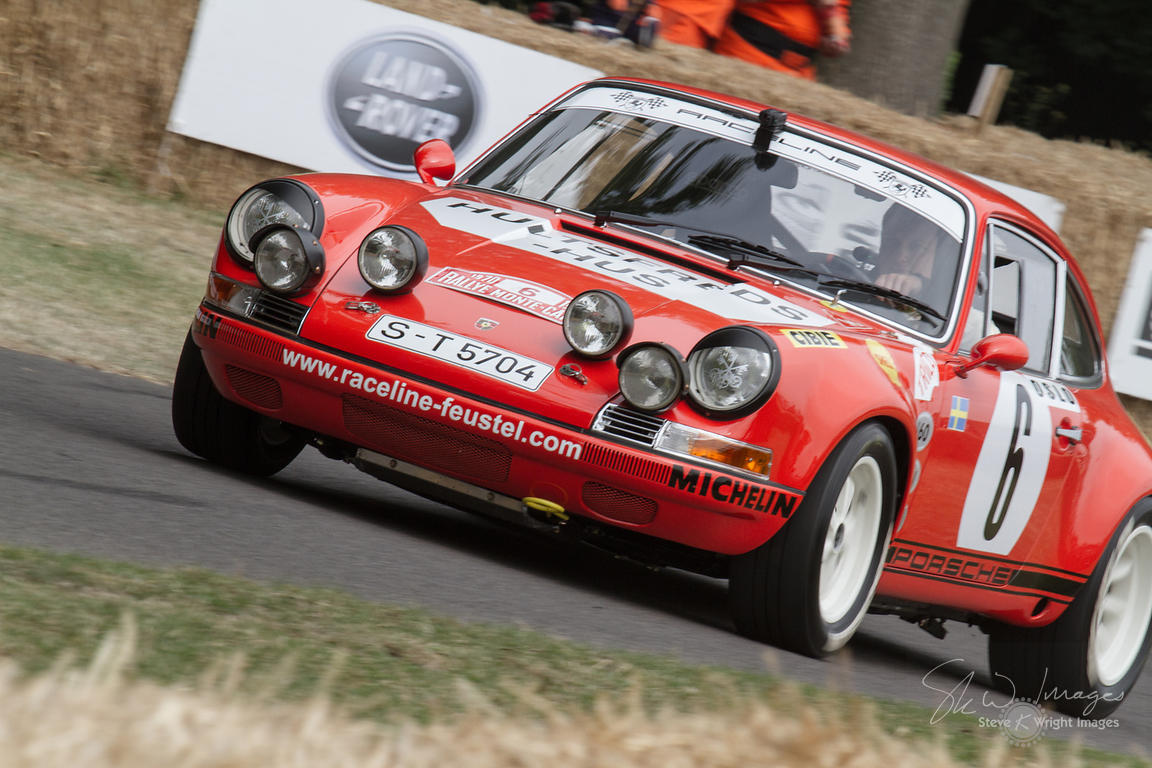 Porsche 911 SCRS (3.0-litre flat-6, 1984), 1984 Belgian Group B Rally Championship Winner - Goodwood Festival of Speed 2013
