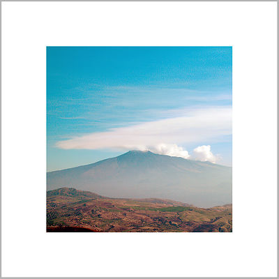 27th October 2013 - Etna Volcano - View form Troina, Sicily (Italy)