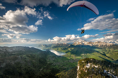 Flying above le Charbon with Jim Nougarolles