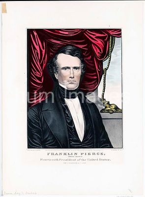 Franklin Pierce Democratic candidate for fourtheenth president of the United States ca 1852