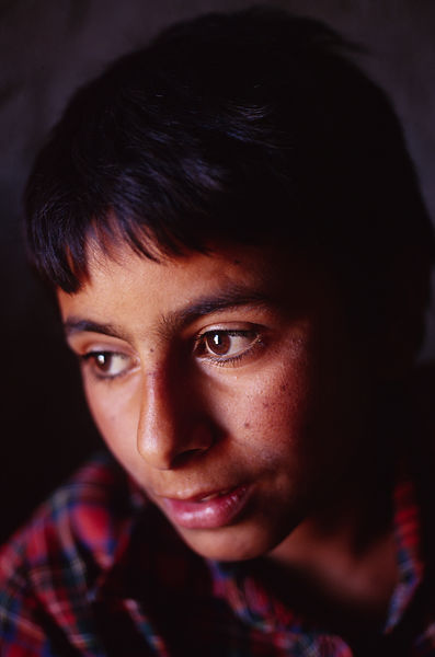 Iraq - Basra - a portrait of a boy