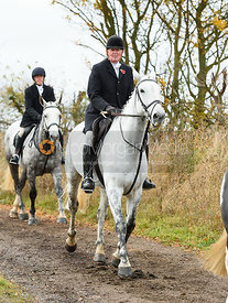 Nick Townsend. The Cottesmore Hunt at Somerby