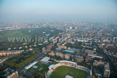 Aerial view of Lord's Cricket Ground, London