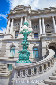 Ornate Lamp Post at Library of Congress