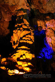 Bay Caves at Ha Long Bay