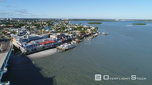 Drone Video Johns Pass Madeira Beach Florida