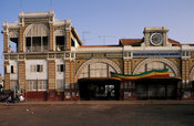 Railway station in city centre, Dakar, Senegal