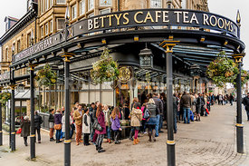 Bettys Tearoom sign