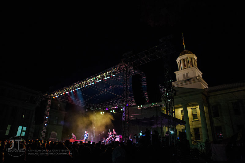 Hoopla - The Wallflowers, UI Homecoming, October 10, 2014