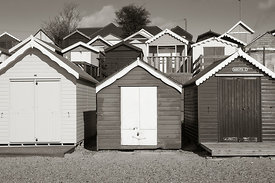Beach Huts at West Mersea