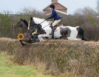 The Belvoir Hunt Ride at Long Clawson 10/12