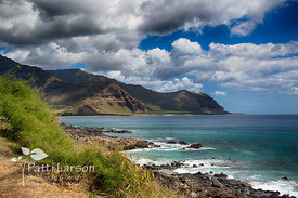 Rugged Western Oahu Coastline