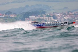 Silverline, A-47, Fortitudo Poole Bay 100 Offshore Powerboat Race, June 2018, 20180610047