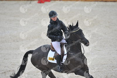 Oliva, Spain - 2019 March 31: Gold tour 1m45 during CSI Mediterranean Equestrian Spring Tour 3.(photo: 1clicphoto.com)