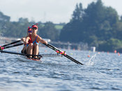 Taken during the NZSSRC - Maadi Cup 2017, Lake Karapiro, Cambridge, New Zealand; ©  Rob Bristow; Frame 2371 - Taken on: Saturday - 01/04/2017-  at 10:54.07