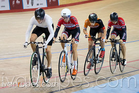 U17 Men's Team Pursuit Final. 2015 Canadian Track Championships, October 9, 2015
