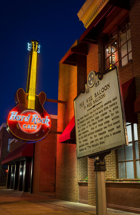 Pee Wee Saloon and the Hard Rock Cafe