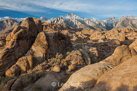 Lone Pine Peak from the Alabama Hills