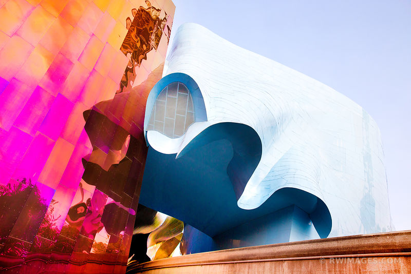 EXPERIENCE MUSIC PROJECT MUSEUM SEATTLE COLOR