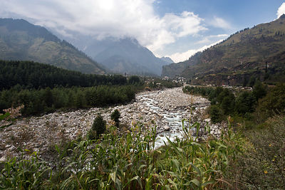 Beas River Valley, Manali, India