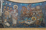 mosaic, The Coptic Orthodox cathedral dedicated to St. Mark, Alexandria, Egypt
