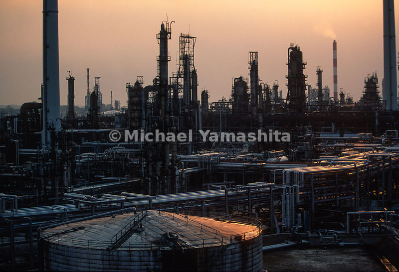 Oil Refinery.South China Sea