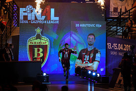 Ilija Abutovic during the Final Tournament - Semi final match - Vardar vs Meshkov Brest - Final Four - SEHA - Gazprom league,...