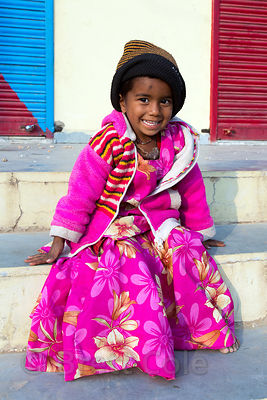 Cute overload! Nadia is about the happiest girl in the world, Kharekhari village, Rajasthan, India