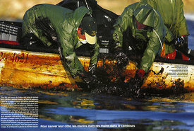 Paris Match Magazine, The Prestige oil spill Spain