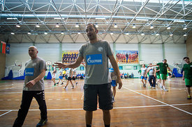 during the Final Tournament - Final Four - SEHA - Gazprom league, Kids day in Brest, Belarus, 08.04.2017, Mandatory Credit ©...