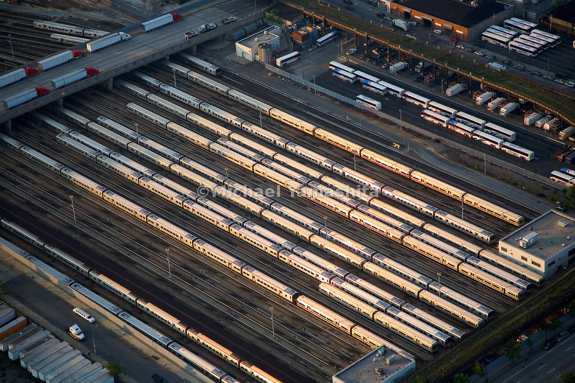 Amtrak and New Jersey Transit trains service rail passengers arriving in or departing from Manhattan's west side.  New York C...