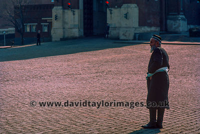 Visitor from out of town | Red Square Moscow | April 1976