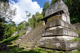 Structure 5D-96, Plaza of the Seven Temples, Tikal