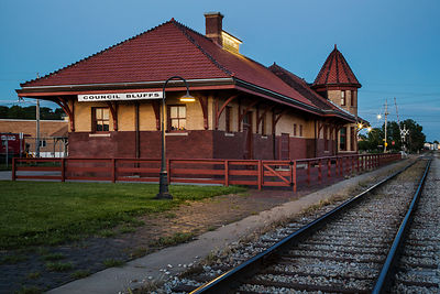 Council Bluffs Train Depot