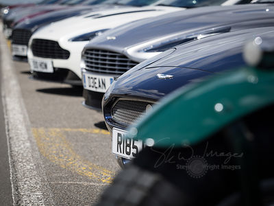RAF Wittering - The Burghley House Aston Martin Gathering (2nd July 2016)