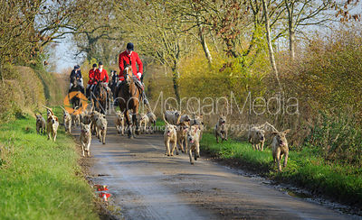 The Cottesmore Hunt at Oak House 31/10