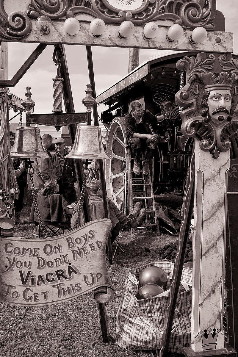 Manly pursuits | The Great Dorset Steam Fair | August 2014