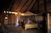 Luwi bush camp, South Luangwa National Park, Zambia
