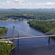 The Penobscot Narrows Bridge, Bucksport