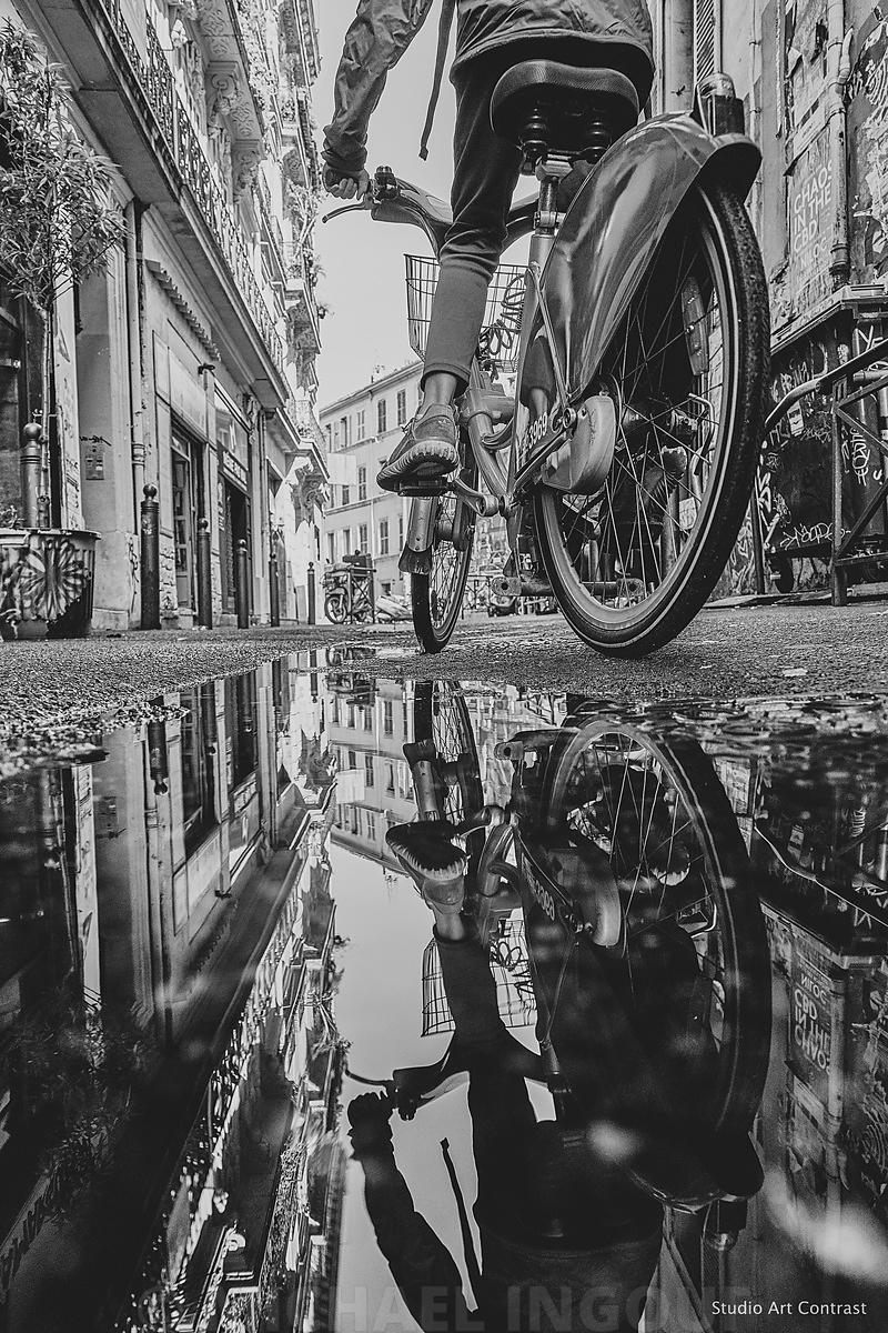 puddle_velo_roue_marseille_BNW_saal