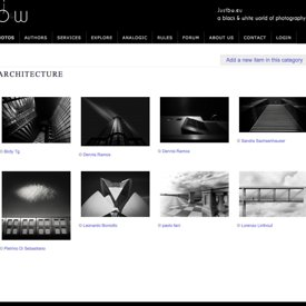 """Do Angels Lie Down Here?"" being published into JustB&W Architecture selection"
