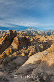 Alabama Hills and Lone Pine Peak